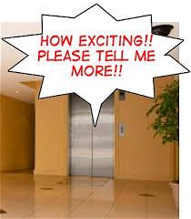 Legendární elevator pitch - ilustrační foto